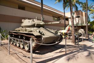 アメリカ陸軍博物館の戦車の展示の写真素材 [FYI01762093]