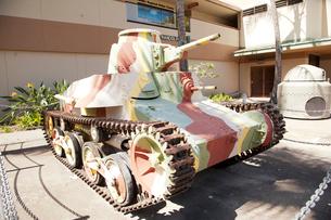 アメリカ陸軍博物館の戦車の展示の写真素材 [FYI01762105]