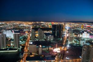 ラスベガス夕景の写真素材 [FYI01762312]