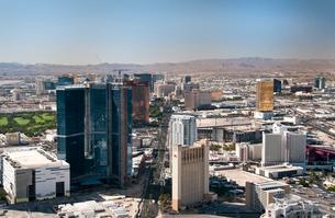 ラスベガス ストラトスフィアタワーからの写真素材 [FYI01762333]