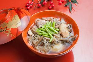 山形県村山地方の雑煮の写真素材 [FYI01762497]