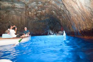青の洞窟の写真素材 [FYI01762501]