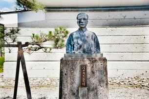 浜田広介像の写真素材 [FYI01762553]