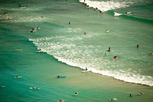 ワイキキビーチの写真素材 [FYI01762577]