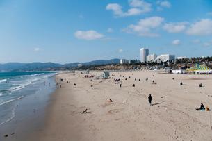 サンタモニカの海岸の写真素材 [FYI01762598]