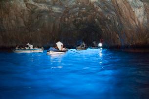 青の洞窟の写真素材 [FYI01762701]