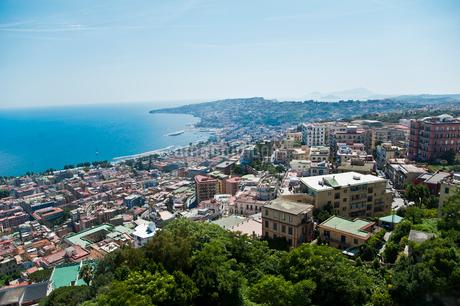 サンテルモ城より望むナポリの町並みの写真素材 [FYI01762809]