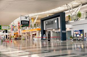仙台空港旅客ターミナルビル 出発ロビーの写真素材 [FYI01763030]