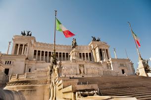 ヴィットーリオ・エマヌエーレ2世記念堂の写真素材 [FYI01763112]