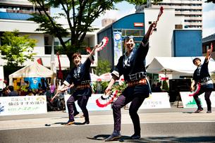 夏まつり仙台すずめ踊りの写真素材 [FYI01763239]