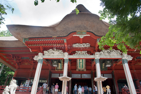 三神合祭殿の写真素材 [FYI01763294]
