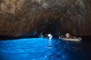 青の洞窟の写真素材 [FYI01763333]