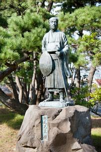 松尾芭蕉像の写真素材 [FYI01763390]