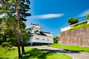 仙台城大手門脇櫓の写真素材 [FYI01763434]