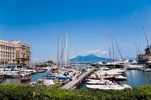 サンタルチア港の写真素材 [FYI01763462]
