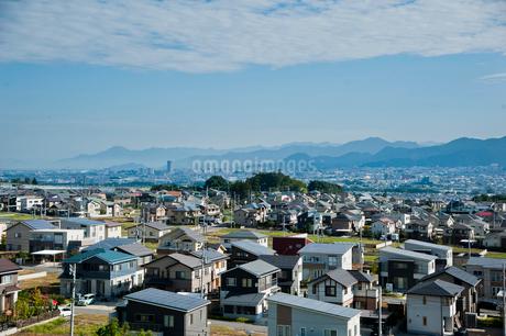 新興住宅街の写真素材 [FYI01763503]