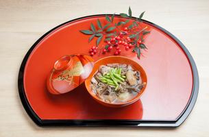 山形県村山地方の雑煮の写真素材 [FYI01763537]