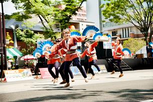 夏まつり仙台すずめ踊りの写真素材 [FYI01763611]