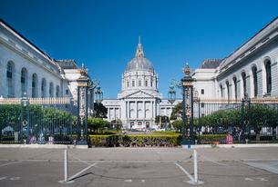 サンフランシスコ・シティホールの写真素材 [FYI01763662]