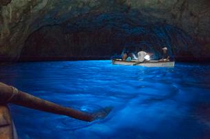 青の洞窟の写真素材 [FYI01763737]