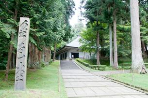 中尊寺金色堂の写真素材 [FYI01763895]