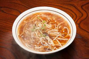 フカヒレあんかけ麺の写真素材 [FYI01763916]
