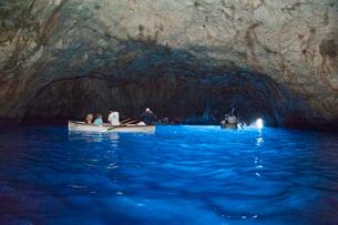 青の洞窟の写真素材 [FYI01763962]