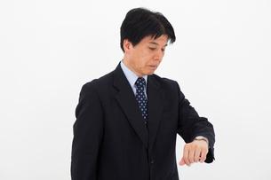 スーツを着た男性の写真素材 [FYI01764508]