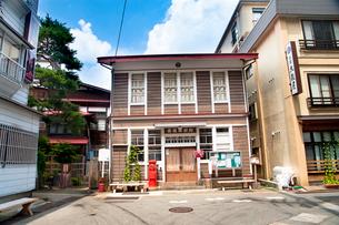 肘折温泉旧郵便局舎の写真素材 [FYI01764942]