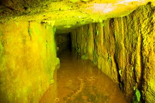 銀山温泉疎水口の写真素材 [FYI01764976]
