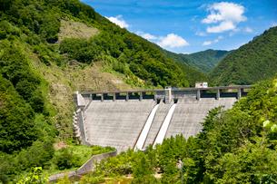 金山町神室ダムの写真素材 [FYI01765004]