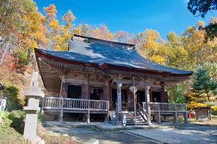 秋の若松寺の写真素材 [FYI01765034]