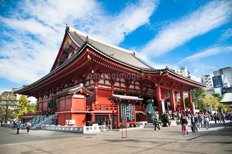 浅草寺の写真素材 [FYI01765160]
