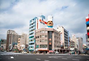 合羽橋道具街の写真素材 [FYI01765256]