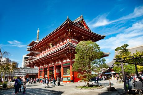 浅草寺宝蔵門の写真素材 [FYI01765358]