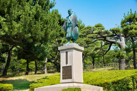 河村瑞賢翁像の写真素材 [FYI01765507]