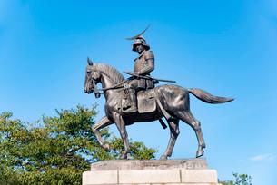 伊達政宗騎馬像の写真素材 [FYI01765598]