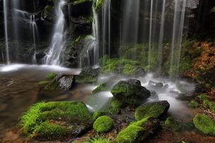 猿壷の滝の写真素材 [FYI01766098]
