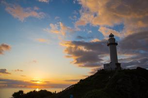 御神崎灯台の写真素材 [FYI01766225]