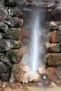 別府温泉地獄めぐり(龍巻地獄)の写真素材 [FYI01766233]