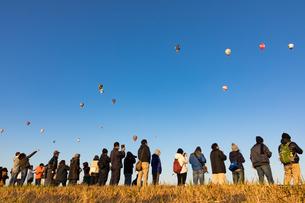 鈴鹿バルーンフェスティバルの熱気球の写真素材 [FYI01766467]
