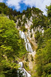 羽衣の滝 北海道天人峡温泉の写真素材 [FYI01766586]
