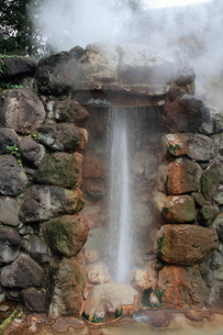 別府温泉地獄めぐり(龍巻地獄)の写真素材 [FYI01766811]