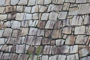 石積み模様の写真素材 [FYI01766812]