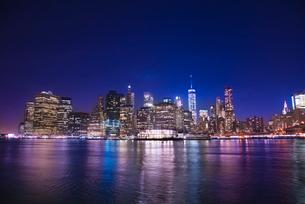 マンハッタン夜景の写真素材 [FYI01767258]