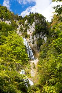 羽衣の滝 北海道天人峡温泉の写真素材 [FYI01767380]