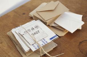 古紙とダンボールの写真素材 [FYI01769677]