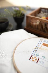 刺繍の写真素材 [FYI01774654]