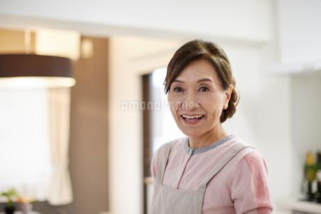 エプロン姿の主婦の写真素材 [FYI01777746]