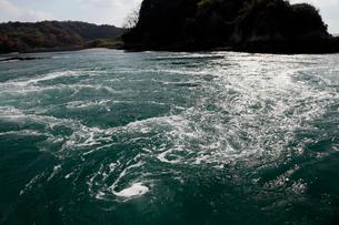12月初冬 しまなみ海道の潮流体験の写真素材 [FYI01778167]
